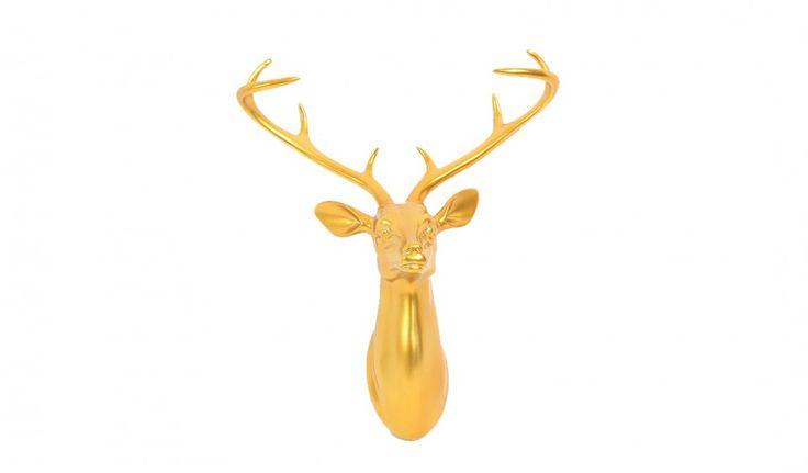 Le cerf est synonyme du renouvellement continu de la vie dans de nombreuses traditions religieuses. Découvrez la tête de cerf design avec ses différents coloris tendance. Une création parfaite sur un mur qui donne une touche symbolique et harmonieuse à votre intérieur.