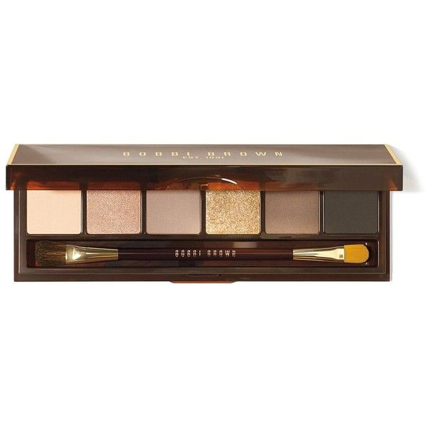 Bobbi Brown Warm Eye Palette, Holiday Gift Giving Collection ($49) ❤ liked on Polyvore featuring beauty products, makeup, eye makeup, eyeshadow, beauty, eye shadow, eyes, sparkle eyeshadow, metallic eyeshadow and champagne eyeshadow