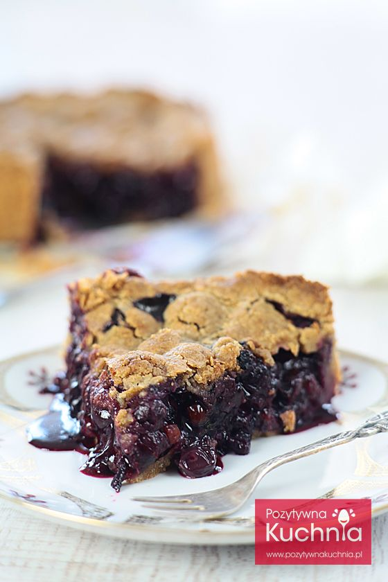 #Ciasto z borówką amerykańską - #przepis na amerykańskie blueberry pie  http://pozytywnakuchnia.pl/ciasto-z-borowka-amerykanska/  #kuchnia