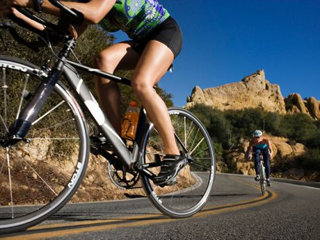 Viele Fahrrad-Touren machen!