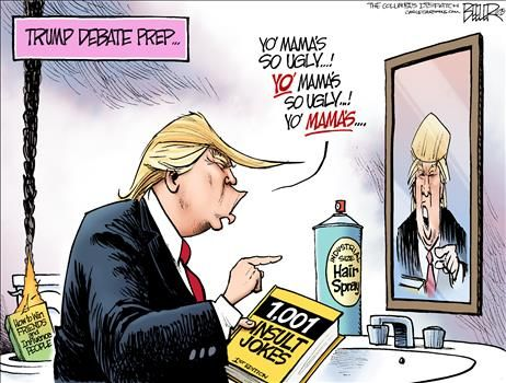 political cartoons by nate beeler trump for president