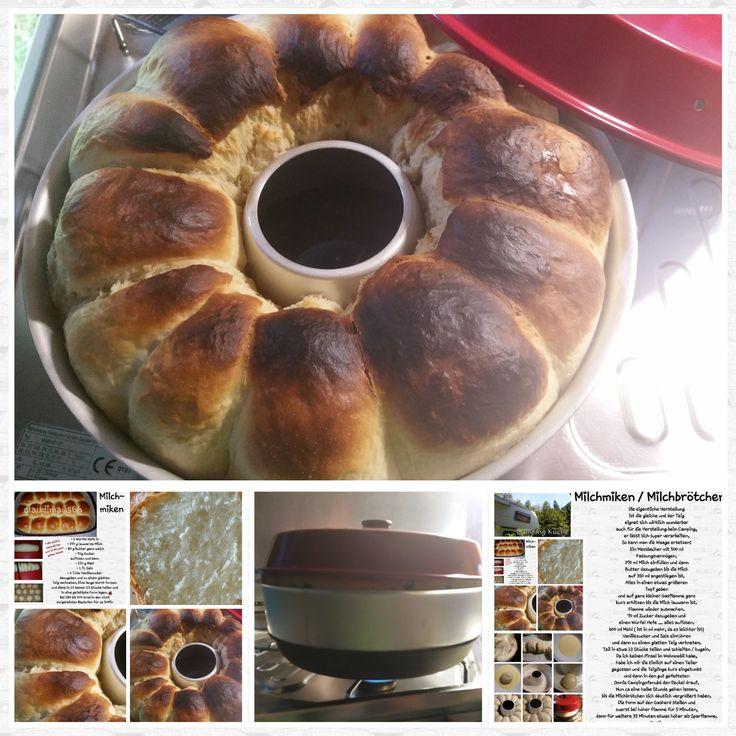 Omnia Camping Ofen ♡ Die eigentliche Herstellungist die gleiche und der Teig   eignet sich wirklich wunderbar   auch für die Herstellung beim Campin...