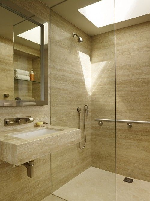 43 Calm And Relaxing Beige Bathroom Design Ideas