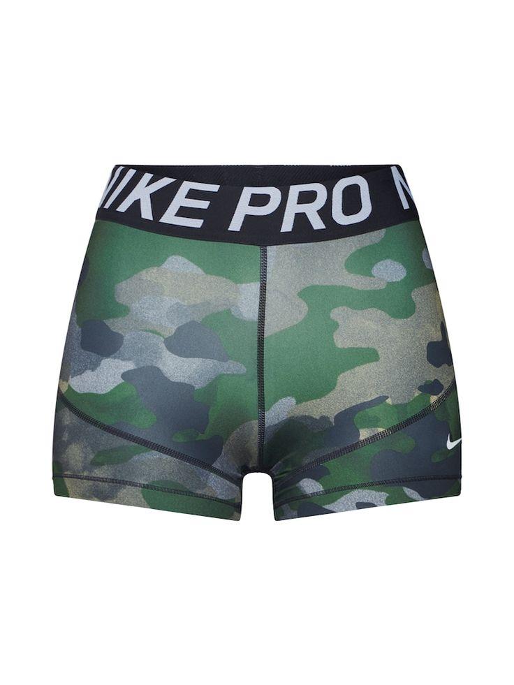 NIKE Shorts & # 39; REBEL & # 39; Damen, Dunkelgrün / Schwarz, Größe M   – Products