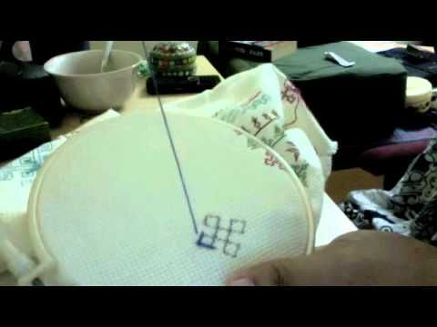 Kutchi embroidery Part-1-video tutorial on Kutch work embroidery-there are several videos