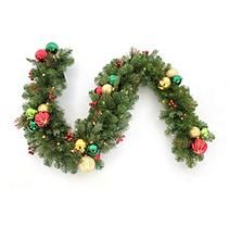 "Traditional Christmas Garland 6"" x 12'"