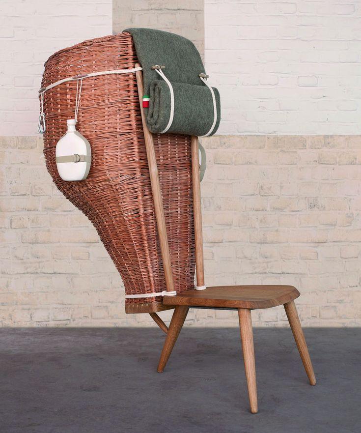 Кресло-корзина с патриотичным подтекстом :: Архилента