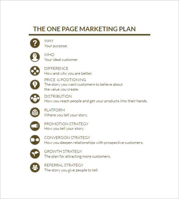 One Page Marketing Plan Marketing Plan Outline Facebook Marketing Plan Template Small Business Marketing Plan Marketing Plan Outline Business Marketing Plan