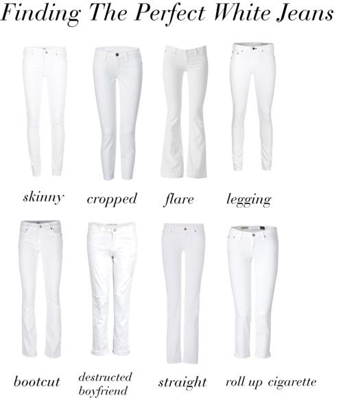 Finding The Perfect Pair of White Jeans (and style tips on how to buy, wear, and take care of them) | STYLE'N
