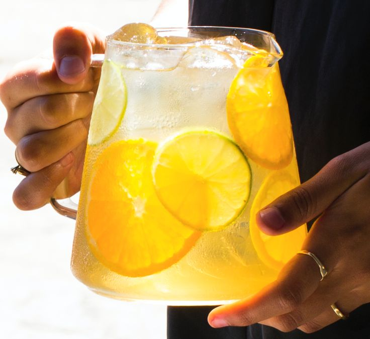 Citrus Squash - Squash that thirst with a terrifically citrus-hued iced tea!