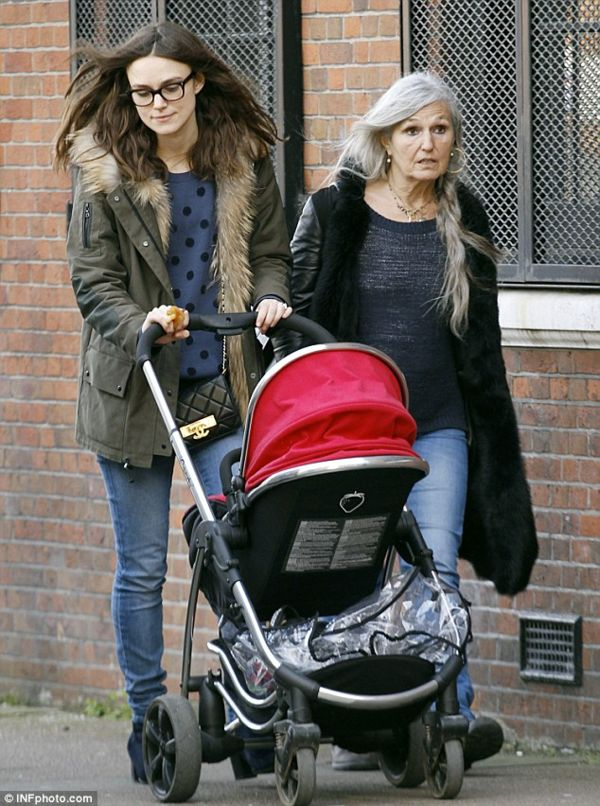 Keira Knightley Plays Mum With an iCandy Strawberry   iCandy World