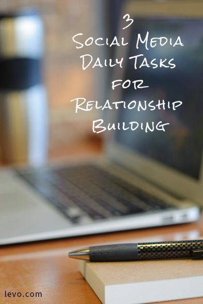 Make sure to do these three things every day on your social media!