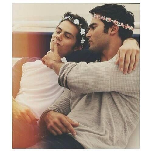 Teen Wolf......stiles and Derek