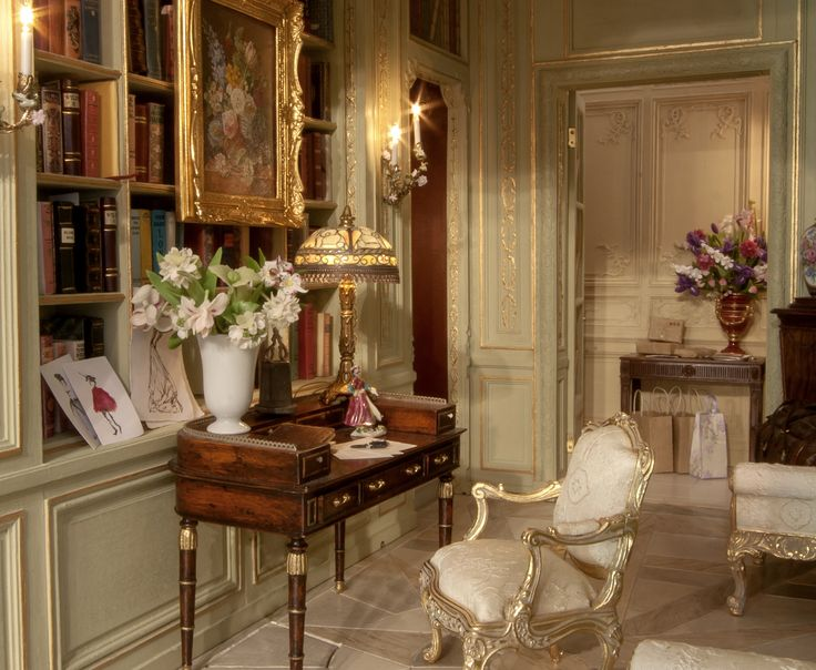 French Apartment Entrance Hall Miniature By Mulvany Rogers