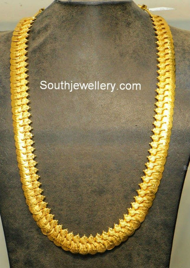 47 best images about gold kasu mala designs on pinterest