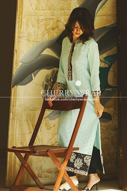Cherry Wrap Winter Clothes 2013 2014 For Women