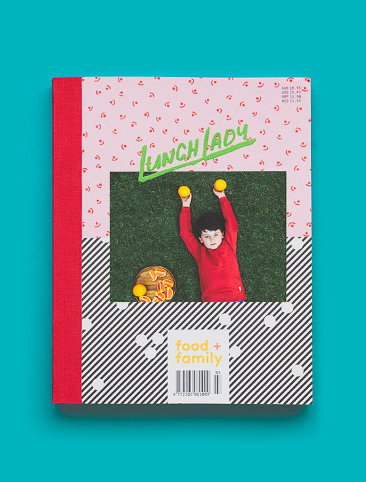 Lunch Lady Issue Three. Bread, Butter, Sugar + Pie.  Lunch Lady Magazine available at http://shop.hellolunchlady.com.au/