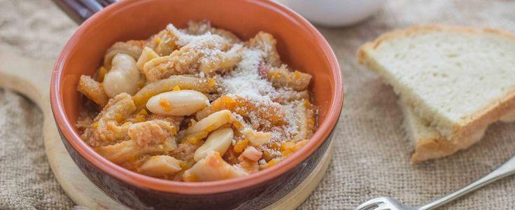 Trippa alla milanese con fagioli