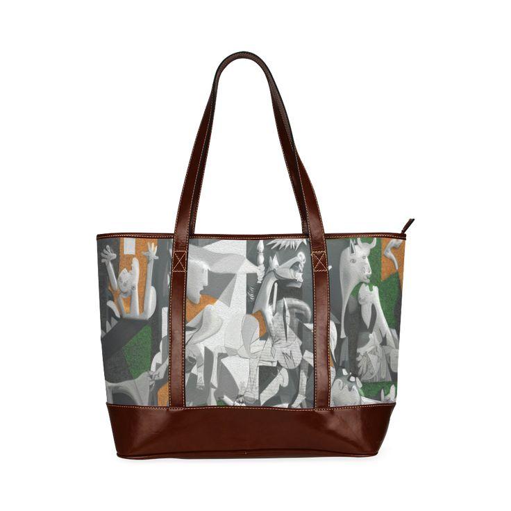 My Picasso Serie:Guernica Tote Handbag (Model 1642)