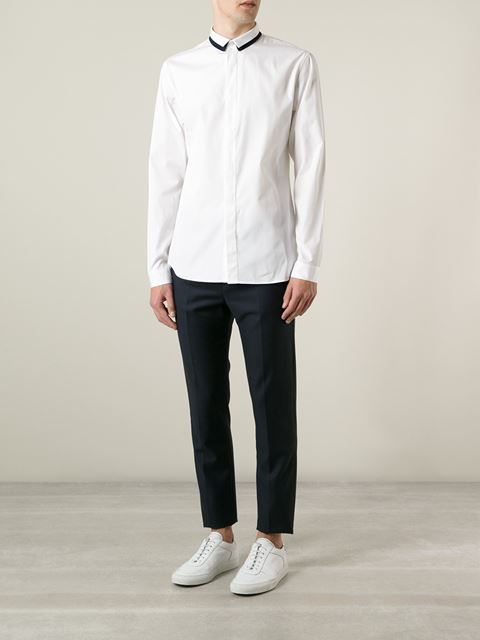 Dior Homme Double Collar Shirt - Vitkac - Farfetch.com
