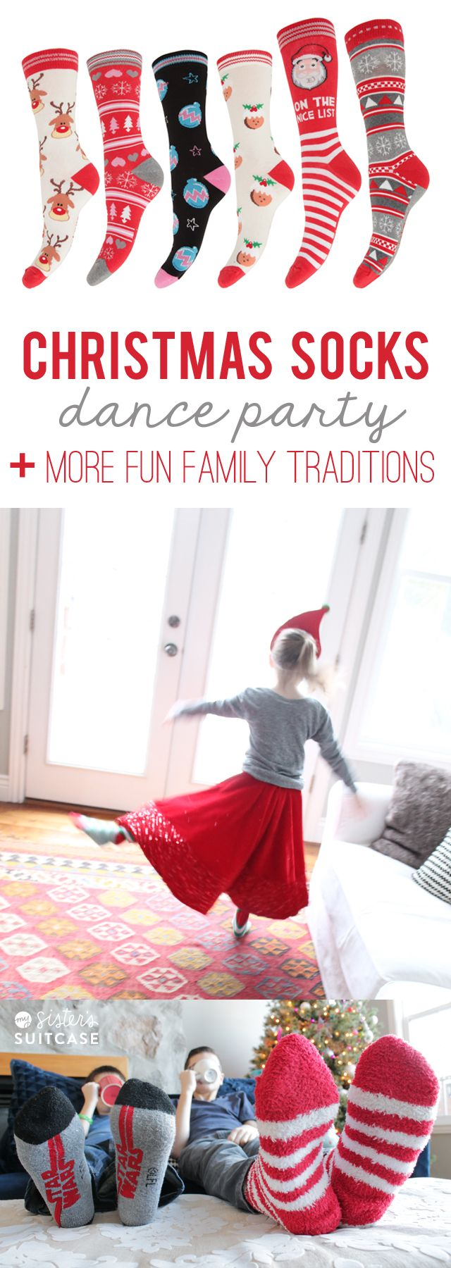 10 Fun Family Christmas Traditions and our favorite hot chocolate #ad