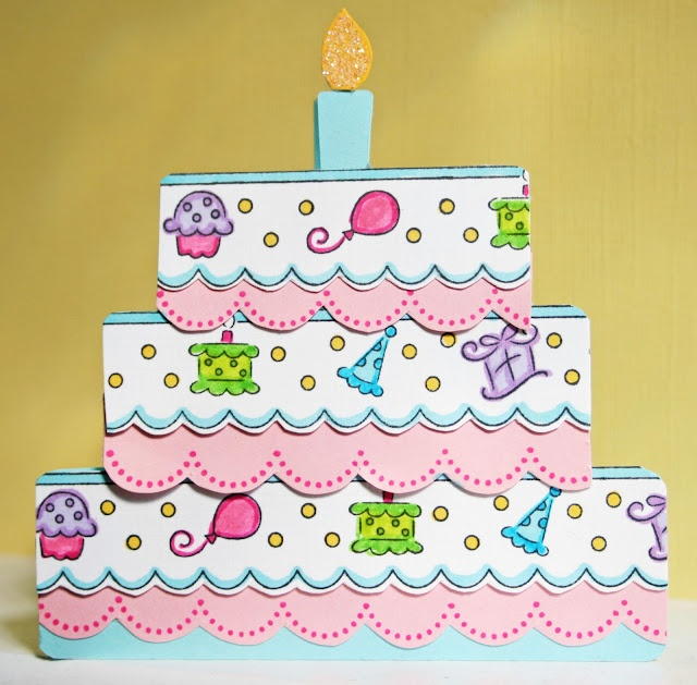 208 best Cards Birthday Cake Ice Cream images – Birthday Cakes Cards