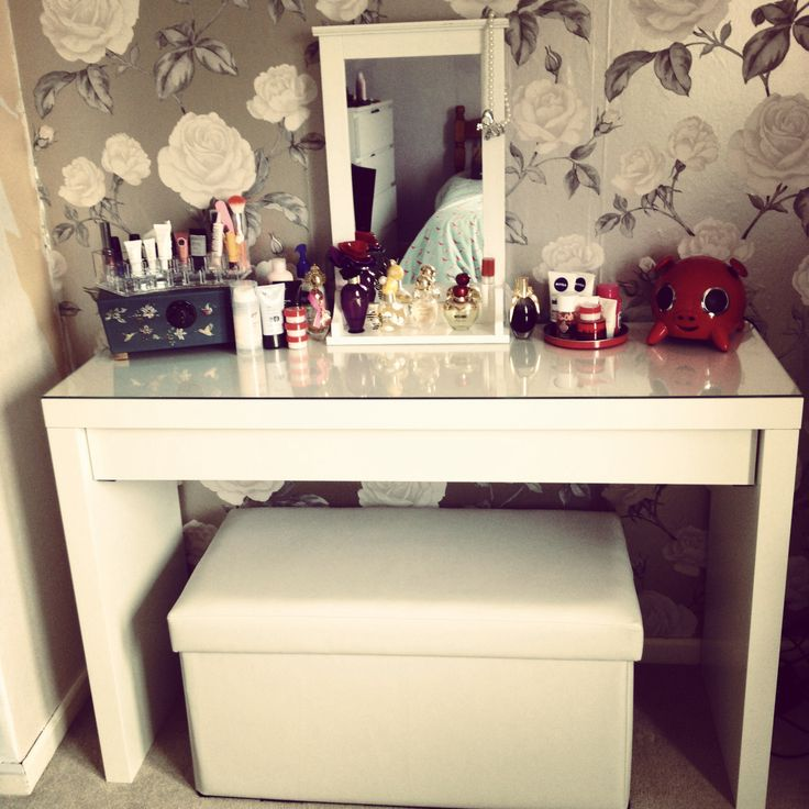 Ikea Dressing Table. Ottoman Which Can Be Pulled Out And Used As Seat From  Argos