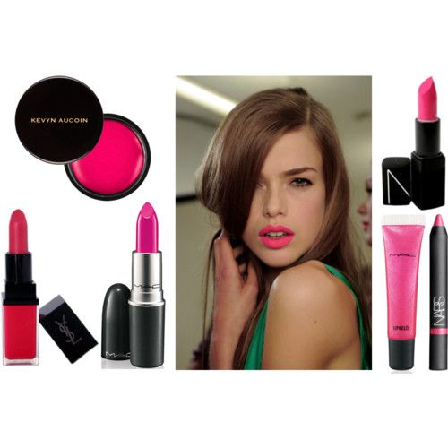 Bright Pink Lips | Wear | Pinterest | Pink Lips Hot Pink Lips And Lips