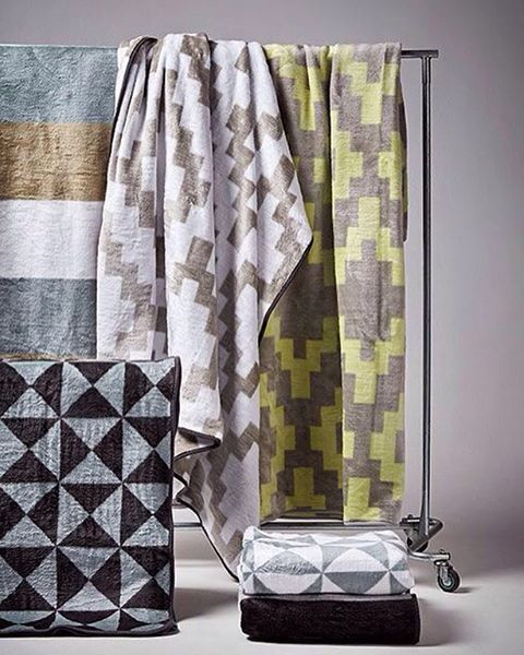 Keep warm this weekend with our snug selection of blankets in bold, geometric…