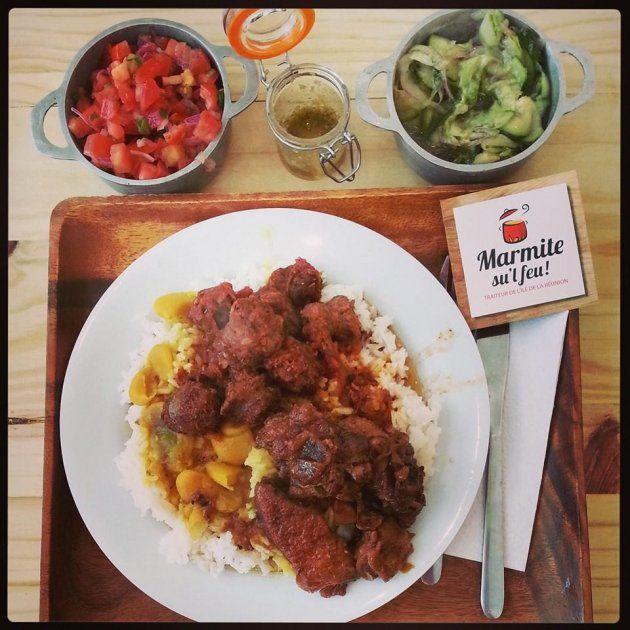 Les 64 meilleures images du tableau la cuisine r unionnaise sur pinterest cuisine cr ole - Cabri massale cuisine reunionnaise ...