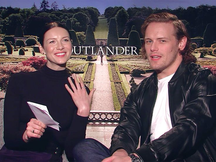 PEOPLE puts the cast of Outlander to a sexy test and they pass with flying colors