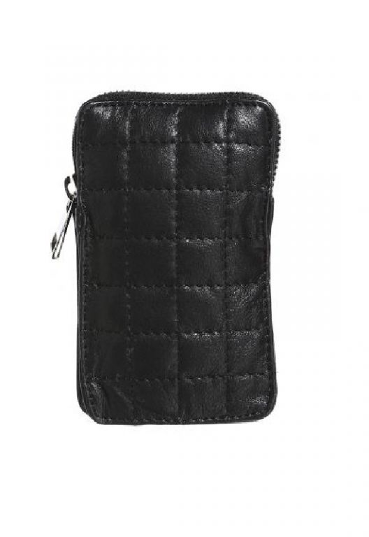 Amust Quilt Mobile Bag Black - Accessories - MaMilla