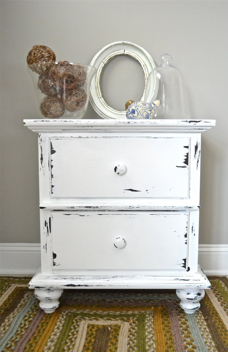 Shabby Chic Night Stand For The Home Pinterest Night