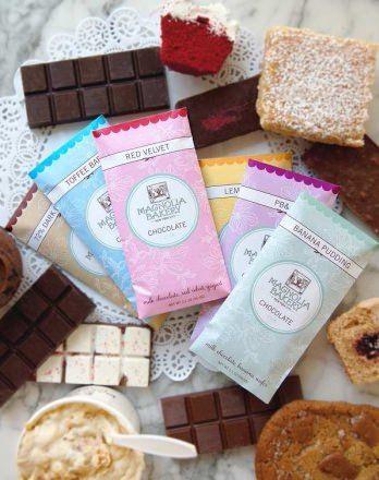 米国NY発「マグノリアベーカリー」から、初のチョコレートバー(板チョコ)がバレンタイン向けに販売される。