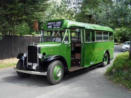 1935 Leyland Cub C4 #vintage #bus