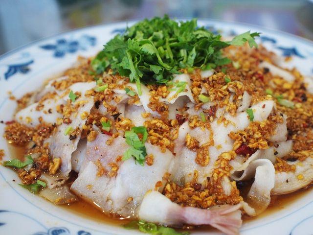 sliced pork salad | Taiwanese cuisine