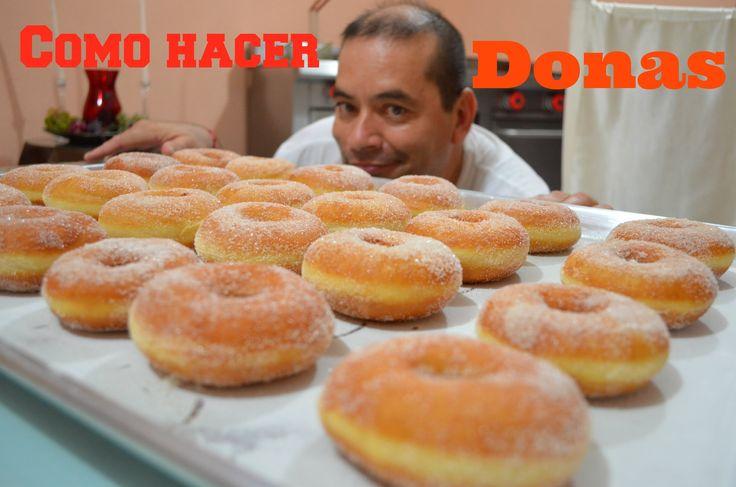 la receta sencilla de como preparar unas Donas con Azúcar bien fáciles de preparar pero sobre todo Ri..quisimas!! Suscribete: http://bit.ly/1gfGHfM Sito Web:...