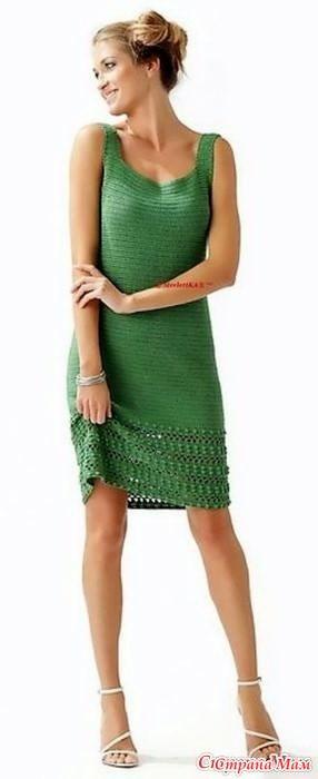 Доброго времени суток! Начинаем вязать элегантное платье. Вот результаты онлайн опроса для желающих присоединится: Опрос в Стране Мам: Весна новым платьем красна!