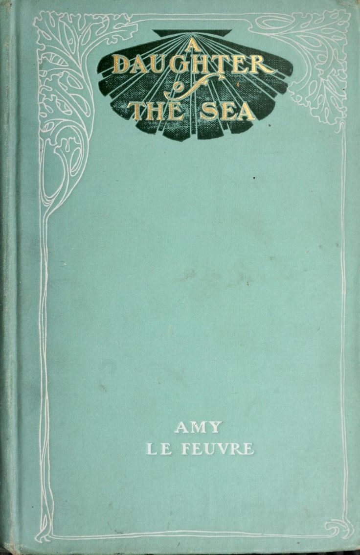 "Vintage Book Cover ~ ""Daughter of the Sea"""