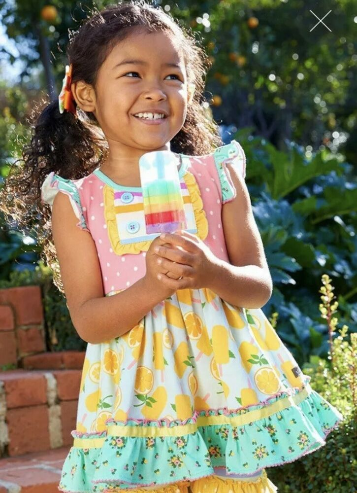GIRLS MATILDA JANE Brilliant daydream Sweet Trip Maxi Dress SIZE 6 NWT