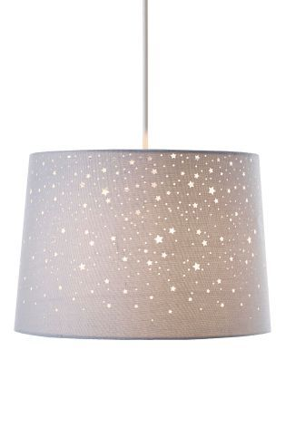 Buy Grey Cut Out Star Shade from the Next UK online shop