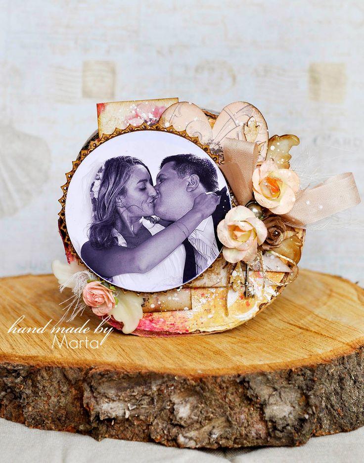 Obrazek na drewnie /Picture on wood