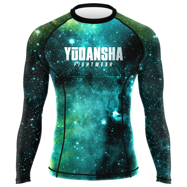 Vitruvian Man BJJ Rash Guard