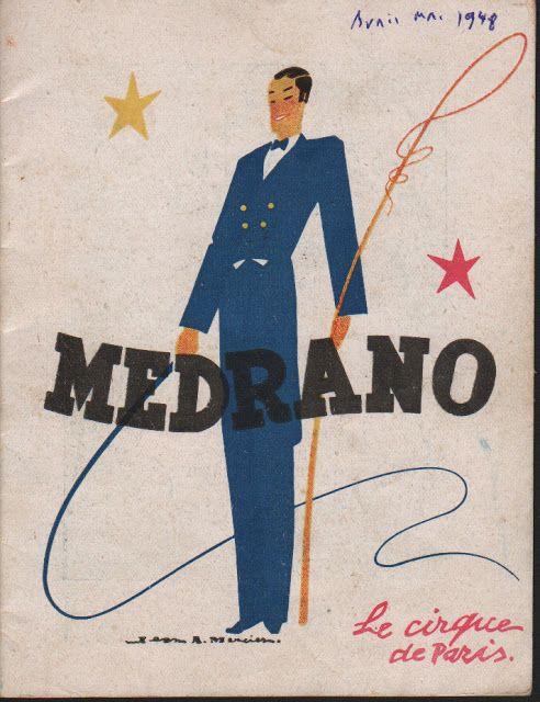 Circus collection: Cirque Medrano 1948