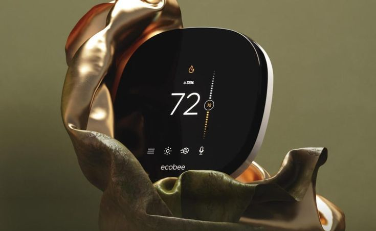 Ecobee Smartthermostat With Voice Control Intelligent Thermostat