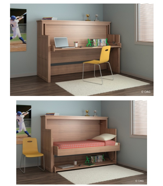 Charming Desk Bed From ORG Nice Ideas