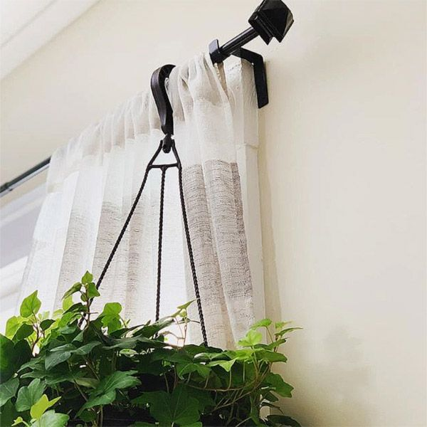 These Genius Tap In Curtain Rod Holders Install In Just Seconds