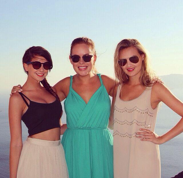 Zoe Sugg, Tanya Burr, and Niomi Smart