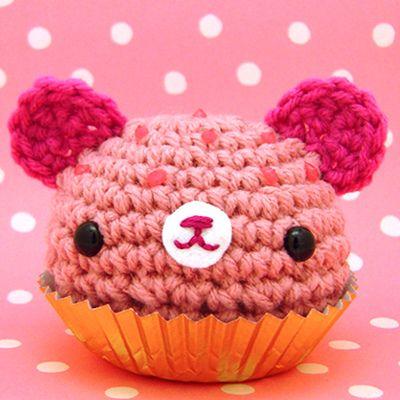 amigurumi cupcake bear