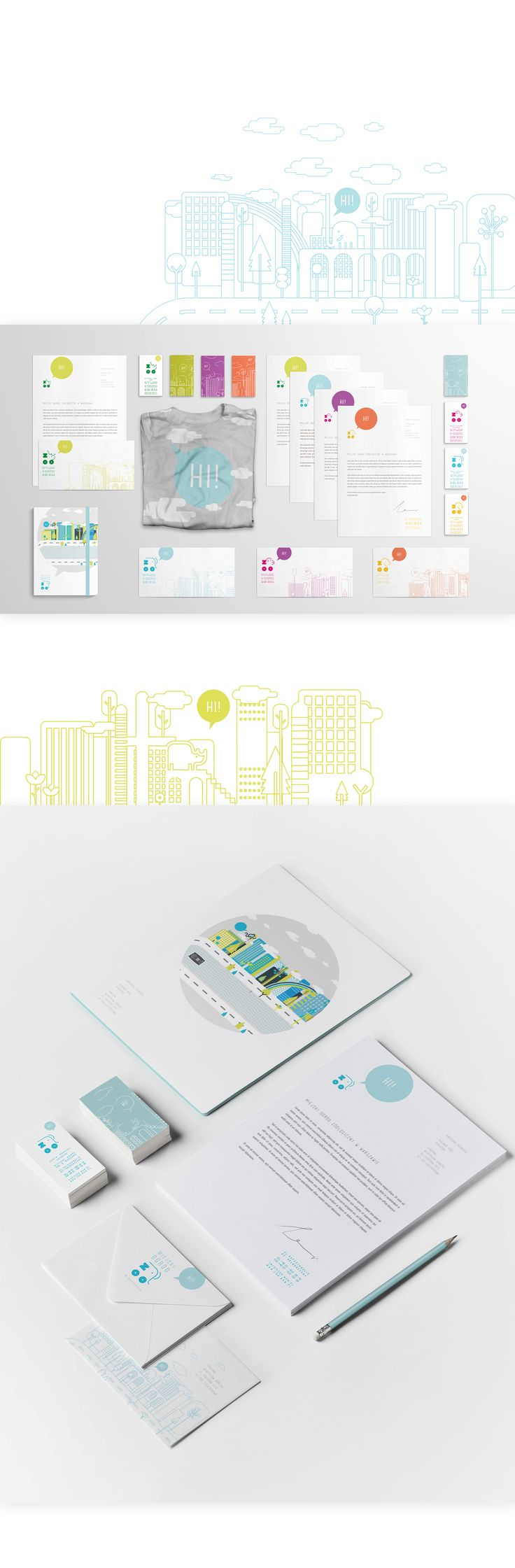 brand Identity and banners for the Warsaw Zoo. Igor Kubik design